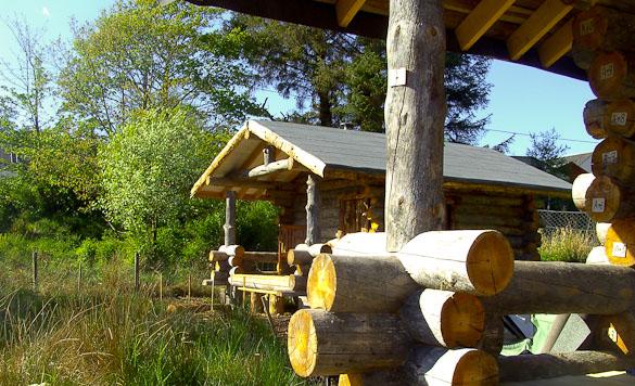 Hart of Mull Sauna Cabin - Hart of Mull Log Cabins Isle of Mull