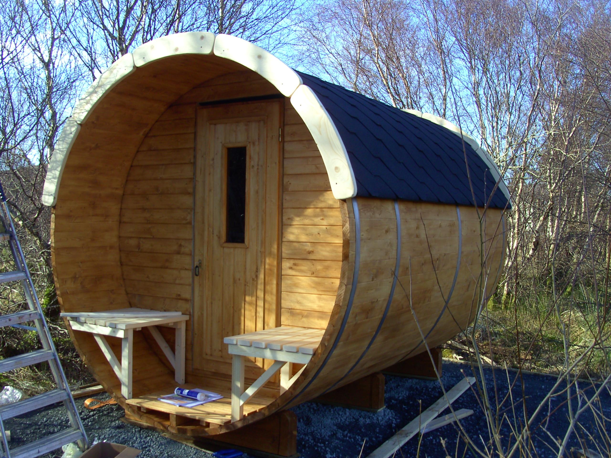 Log Cabin One Hart Of Mull Log Cabins Isle Of Mull