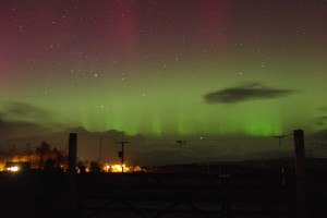 Aurora at Hartofmull Log Cabins