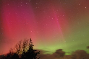 Aurora at Hart of Mull Log Cabins