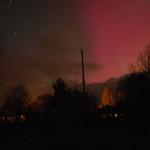 Aurora at Hart of Mull Log Cabins